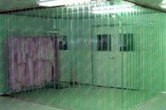 ESD védelemmel ellátott PVC függöny