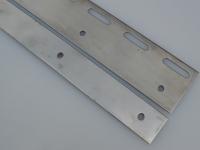 200 mm rozsdamentes lemezpár