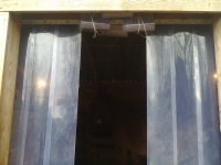 Hőszigetelő függöny, feltekerhető