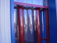 Műanyag ipari függöny