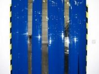 Színes/átlátszó PVC szalagfüggöny