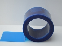 Átlátszó kék színű szalag