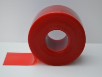 Piros színű PVC szalag