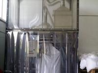 Ipari függöny térelválasztó