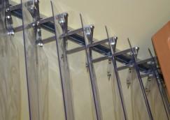 elhúzható PVC függöny