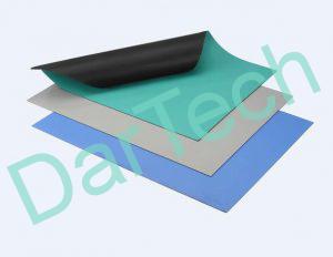 Színes PVC táblalemez, ESD védelemmel