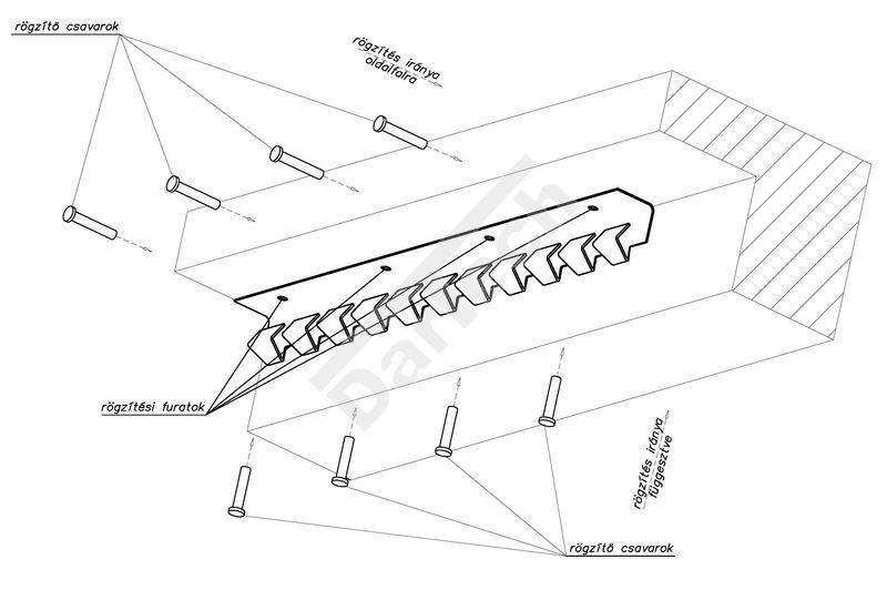 Hőfüggöny, PVC szalagfüggöny