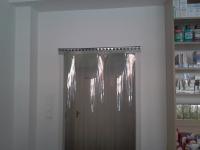 Antisztatikus pvc függöny ajtóra