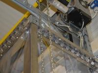 PVC szalagfüggöny felfüggesztő rendszer