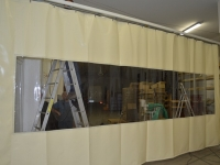 PVC ponyva hőföggöny
