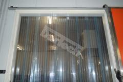 Fagyálló, bordázott PVC hőfüggöny