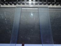 PVC fagyálló függöny, felfüggesztéssel
