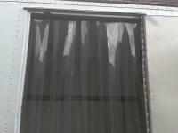 Hővédelem fagyálló PVC szalagfüggönnyel