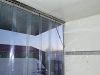 Hűtőkocsira fagyálló függöny