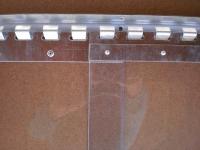 Galvanizált lemezpár 300mm, felfogatás