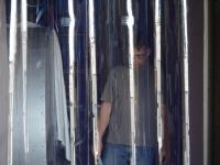 Víztiszta PVC szalag
