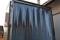 PVC hűtőfüggöny hűtőautóba