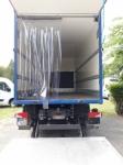 Elhúzható teherautó függöny