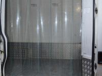 Hőzáró függöny hűtőkocsiba
