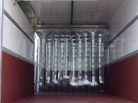 Belső térelválasztó PVC szalagfüggöny kamionba