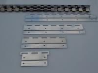 INOX lemezpár 400mm