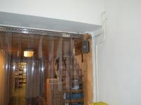 Raktár hővédő függöny