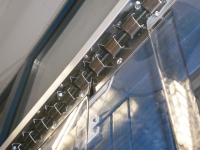 PVC strip with hanging system