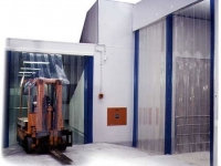 PVC szalagfüggöny