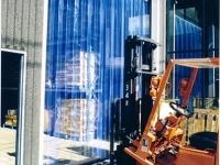 műanyag hőszigetelő függöny