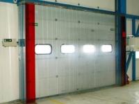 PVC hőzáró kapu