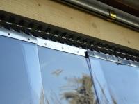 Hőszigetelő függöny PVC szalagból