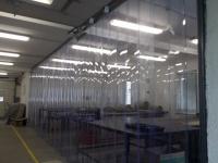 Térelválasztó ipari függöny
