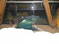 Átlátszó hőszigetelő függöny