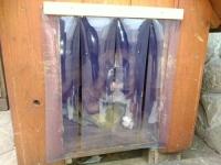 PVC függöny kutyának
