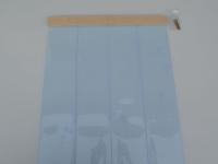 Kutyaajtó PVC szalag