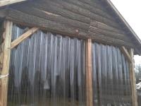 Lovarda hőszigetelése PVC szalagból