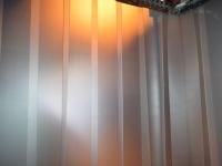 Matt áttetsző PVC hőfüggöny (tejüveg hatás)