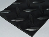 Csepmintás fekete gumilemez