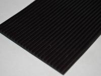 Mikrobordás fekete gumilemez
