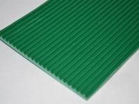 Mikrobordás zöld gumilemez