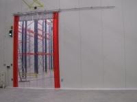 elhúzható ipari hőfüggöny