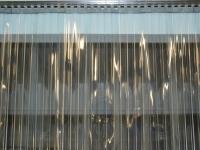 Normál, bordázott PVC hőfüggöny