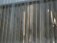 PVC hőfüggöny bordázott