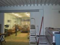 Hőfogó függöny bordázott