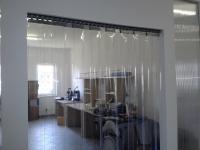 PVC lamellás függgöny