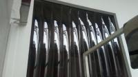Ajtóra szerelhető PVC függöny