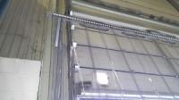 PVC függöny szekcionált kapuhoz