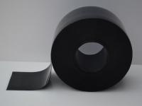Fekete színű PVC szalag