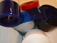 Normál, sima, színes PVC szalag
