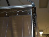 Védőfüggöny gépek lezárásához/elzárásához